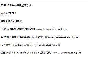 PR素材合集包PR转场PR后期素材 172GB