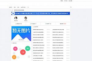 大气简约的emlog资源网下载站模板 无需授权