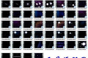 自然风光视频素材-美丽星空56个