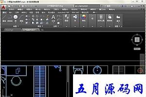AutoCAD2016室内装潢设计视频教程+素材