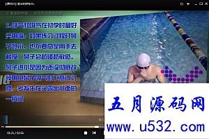学习游泳蛙泳自由泳教学24课高清