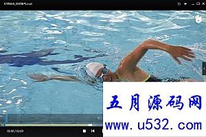 超清零基础学游泳教学视频全集