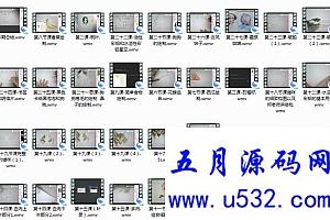 彩铅基础视频教程39讲