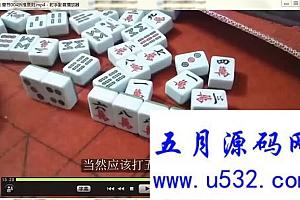 打麻将技巧全套视频教程132集下载