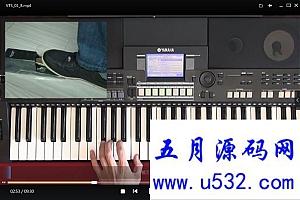 简谱电子琴自学入门36技