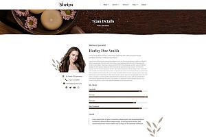 美容SPA水疗养生馆网站WordPress主题Elementor模板