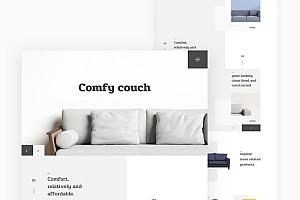 5个不同风格的网站着陆页设计模板