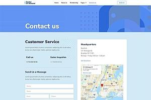 在线医疗咨询服务主题网站WordPress主题Elementor模板
