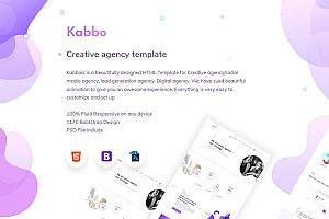 创意网站psd界面设计模板和html前端模板