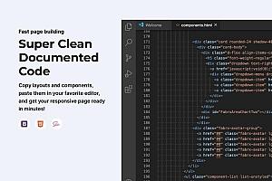 Fabrx网页设计规范组件Bootstrap前端和设计模板