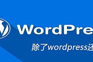 除了wordpress还有什么