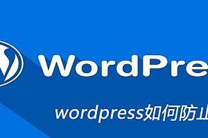 wordpress如何防止被采集